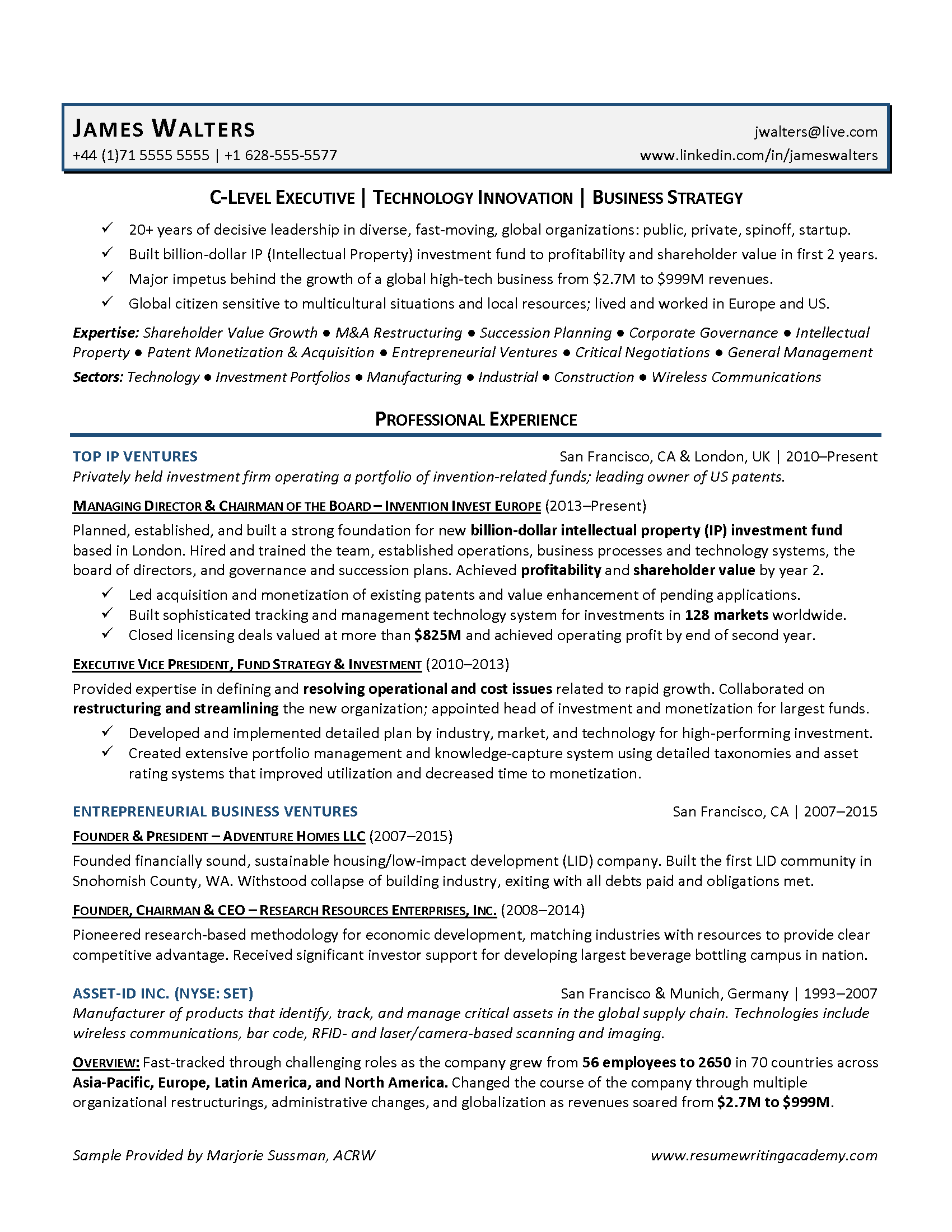 resume writing academy 3 strategies for executive resumes
